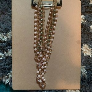 Bead Layer Long Necklace